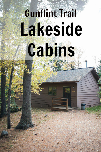 Gunflint Trail Lodging Housekeeping Cabins on Round Lake