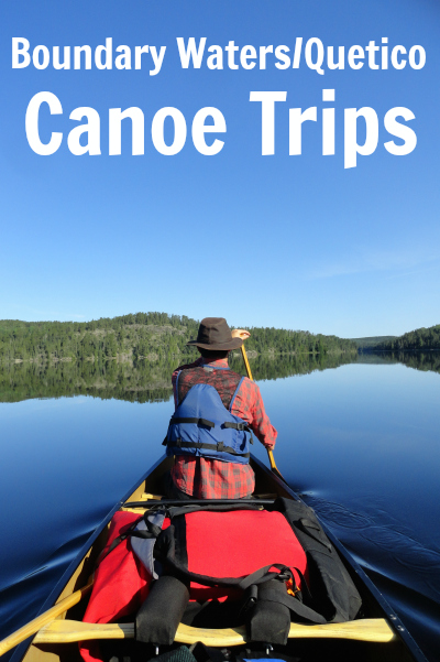 Boundary Waters trip canoe outfitter Gunflint Trail and Quetico canoe trips