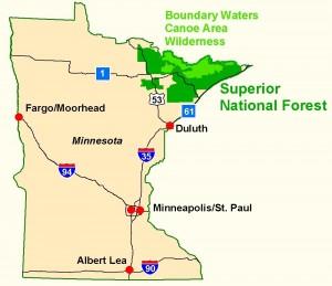 USFS - state map