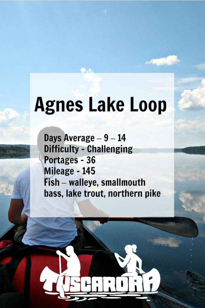 Agnes Lake Loop pin
