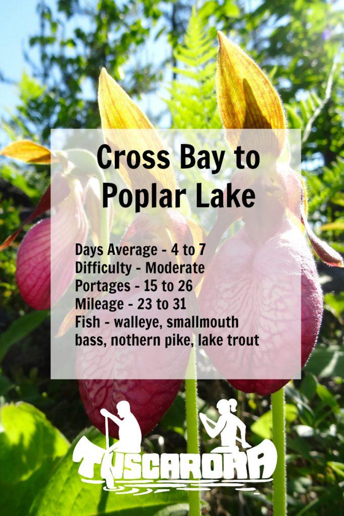Cross Bay to Poplar Pin