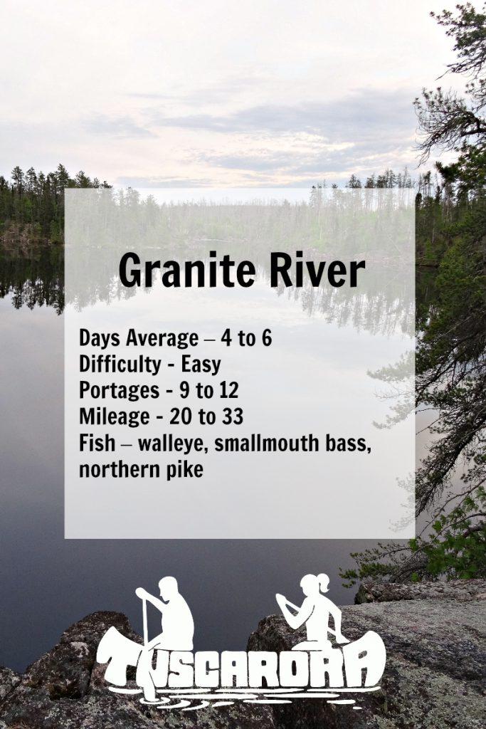 Granite River pin