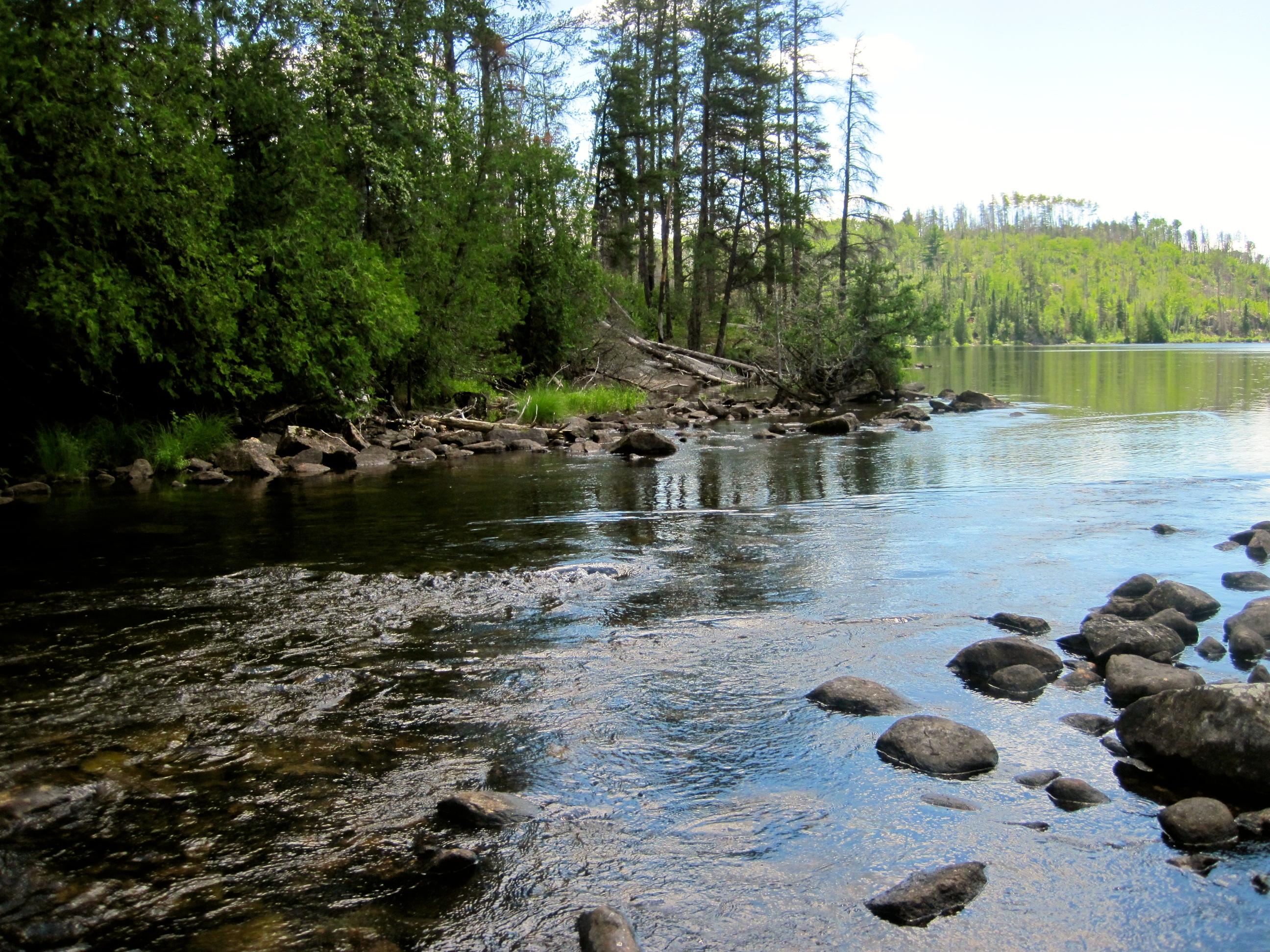 Granite River Gunflint Lake To Saganaga Seagull Lake