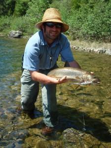 A beautiful lake trout.