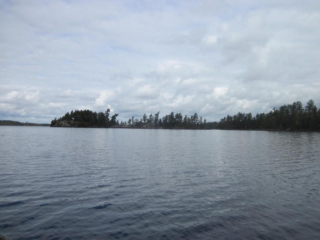 Saganaga Lake U.S. Canada Border Lake Boundary Waters Quetico