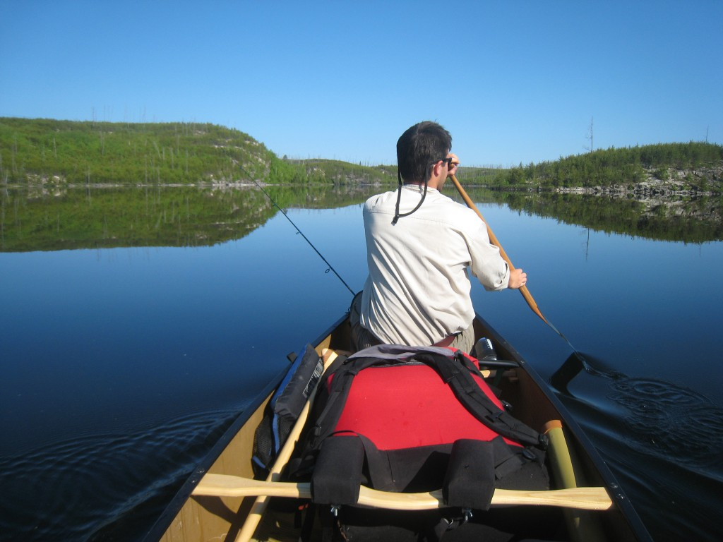 Quetico Provincial Park paddling trip canoe ontario boundary waters