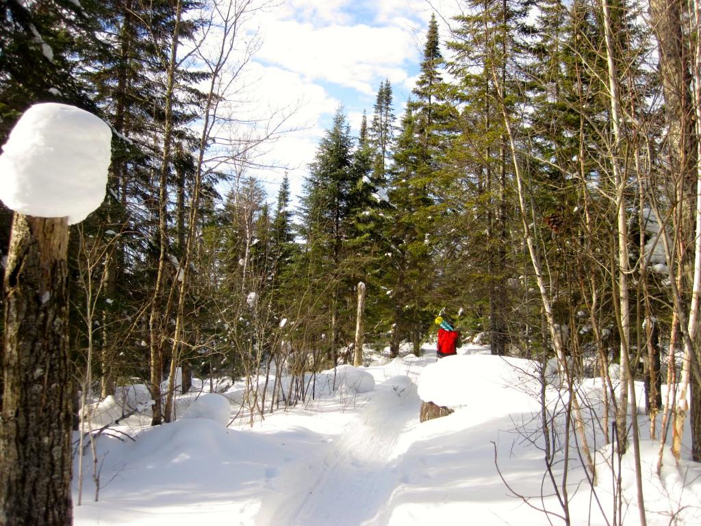 Tuscarora Boundary Waters portage Gunflint Trail winter ice fishing