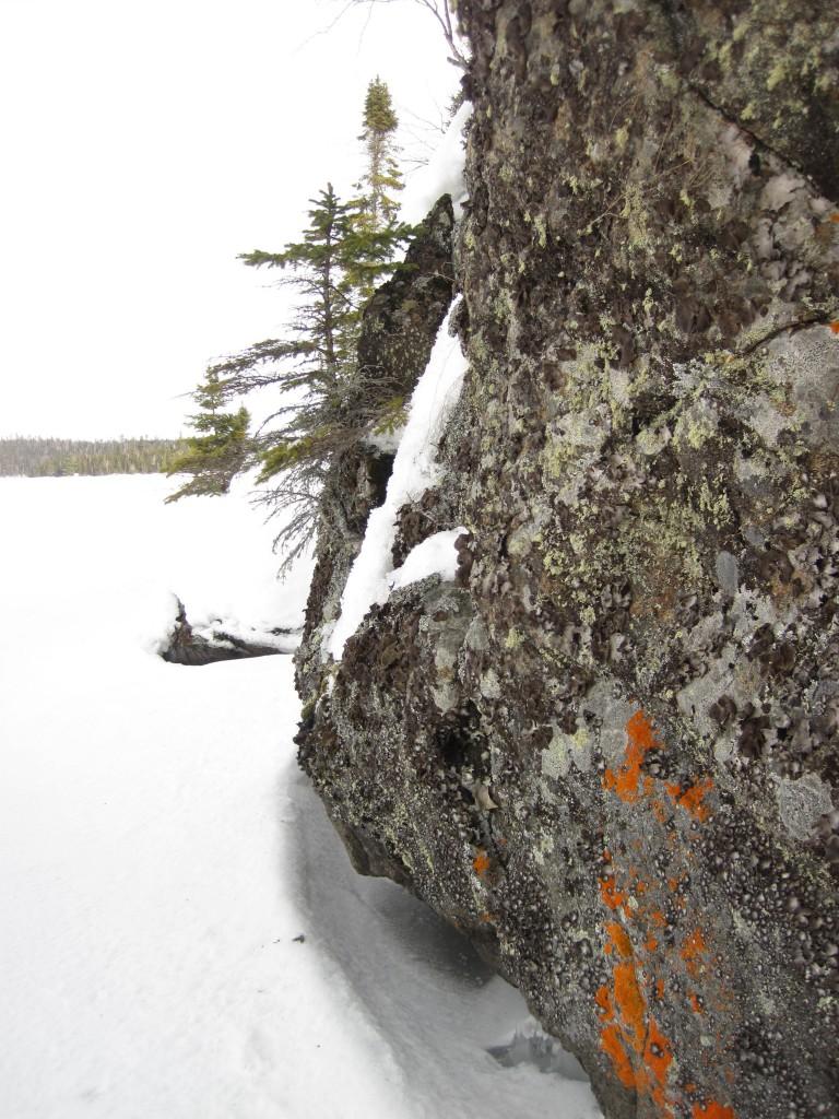 Tuscarora Lake Boundary Waters winter Gunflint Trail