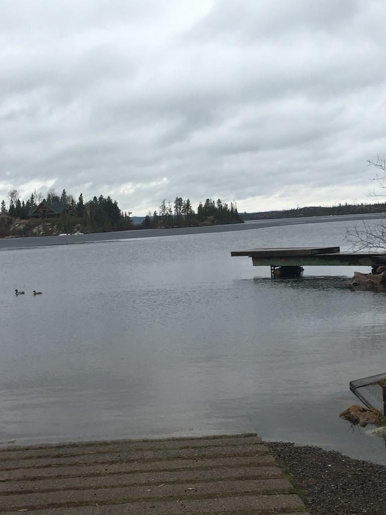 Seagull Lake April 2016 Gunflint Lake Minnesota