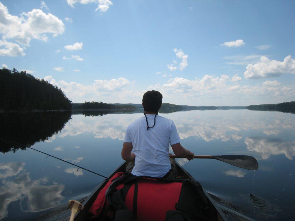 Agnes Lake Quetico summer canoe trip
