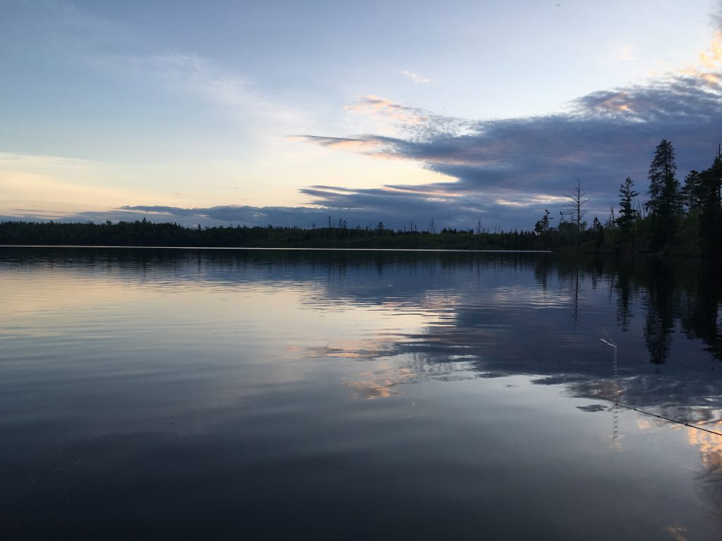 Blue Nights on Round Lake, Gunflint Trail