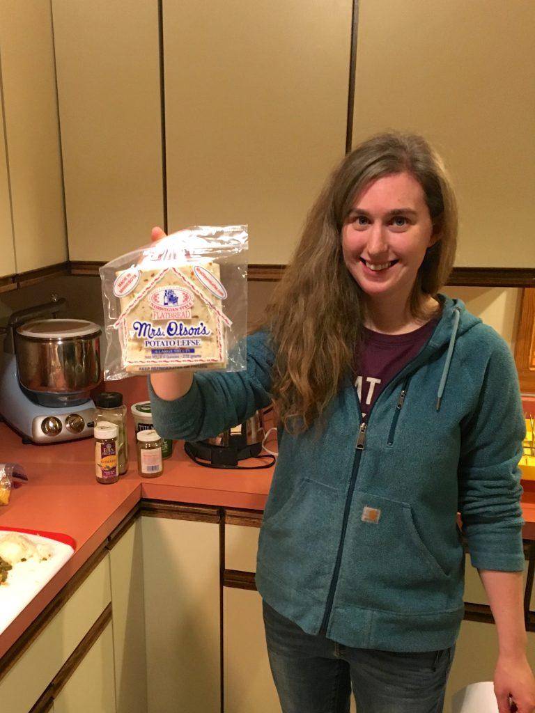Mrs. Olson's Potato Lefse