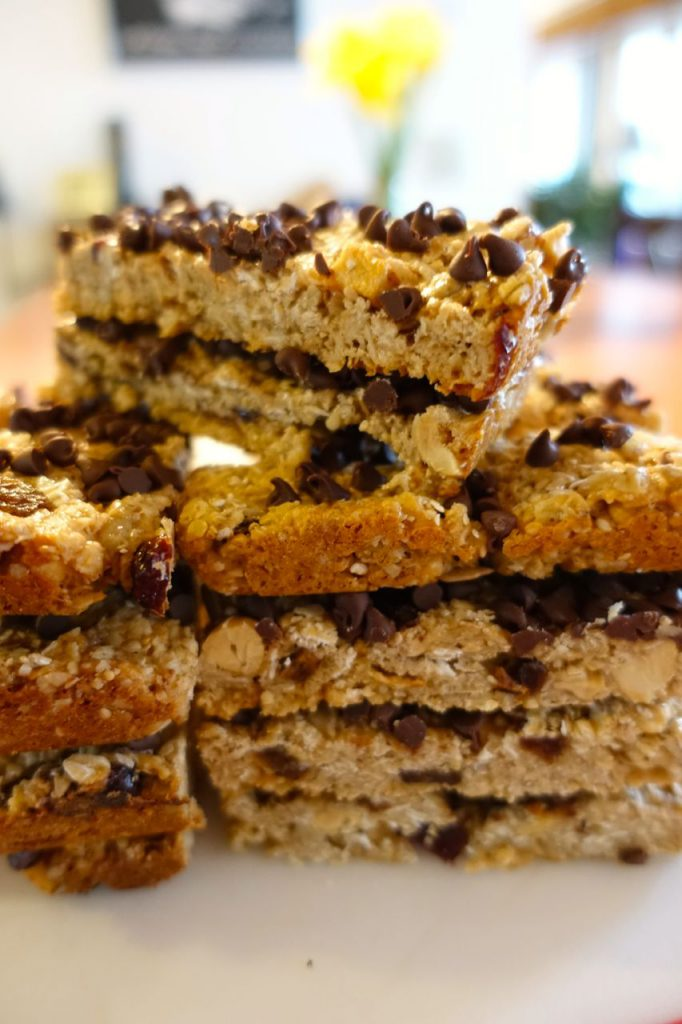 Homemade Chewy Granola Bar recipe