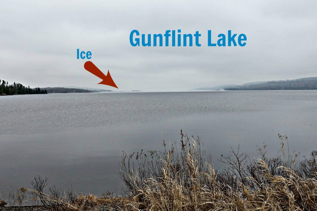 Gunflint Lake April 15 2017