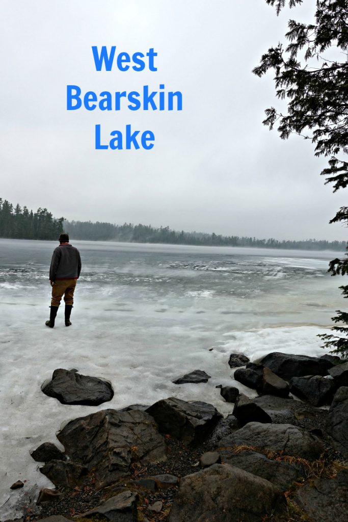 West Bearskin Lake April 15 2017